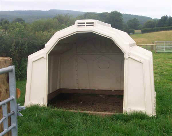 Diy Calf Shelter : Build shed using fence panels desmi